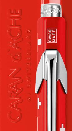 Carandache Office Totally Swiss - шариковая ручка, M