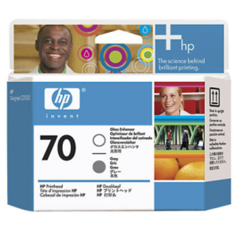 печатающая головка HP 70 Gray-Gloss Enhancer