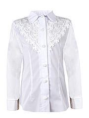0329 блузка детская, белая
