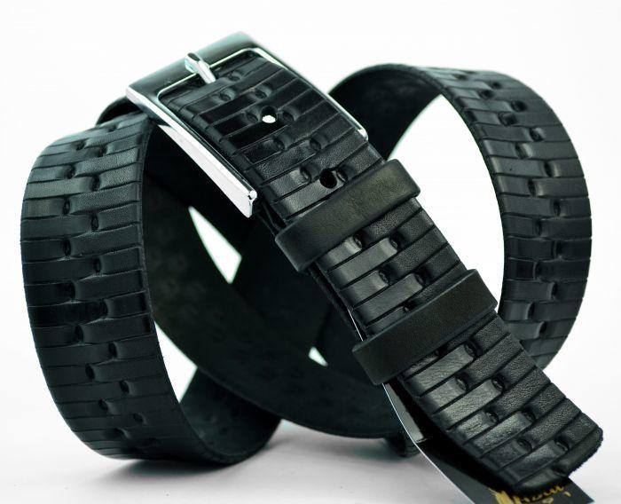 Ремень чёрный 35 мм для брюк 35MrBelt-024