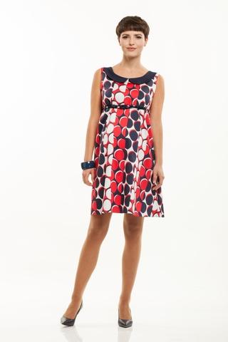 Платье 06181 цветной
