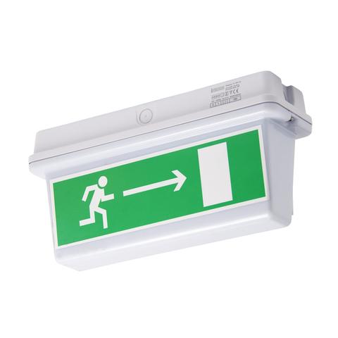 Эвакуационные световые указатели IP65 PL EM 3.0 – общий вид