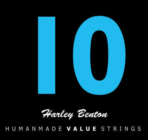 Струны для электрогитары Harley Benton Valuestrings 010-046
