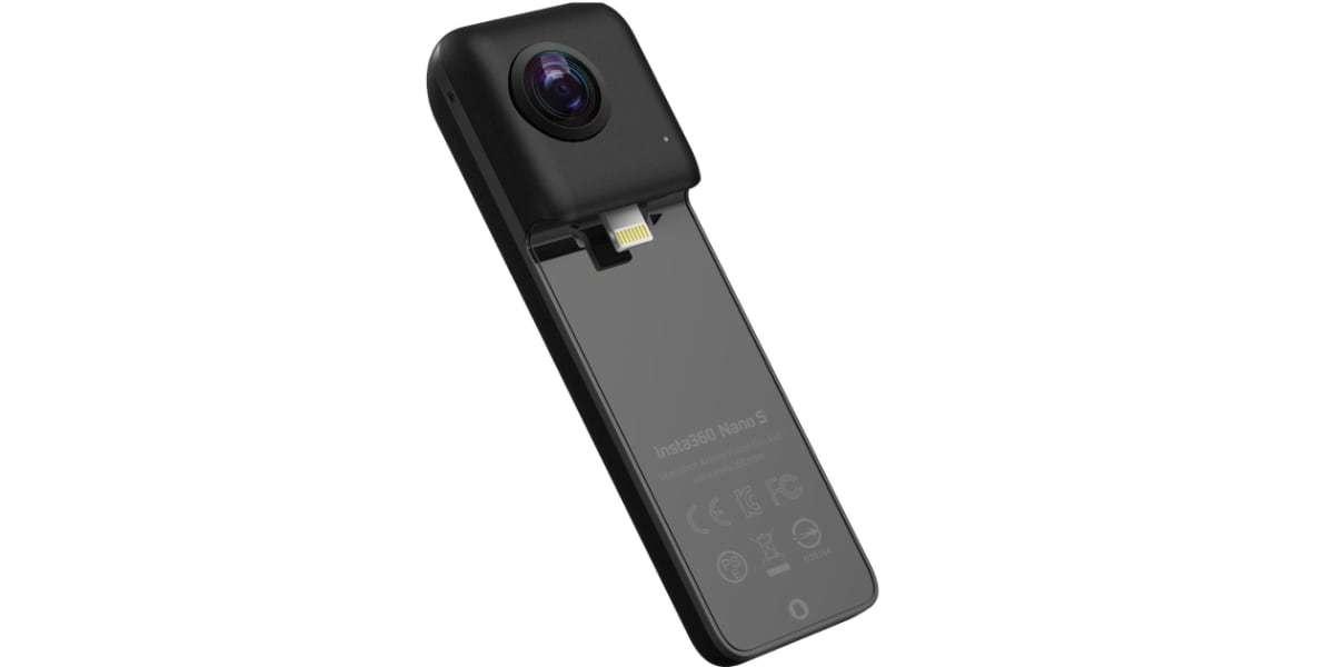 Камера Insta360 Nano S Black фото разъема