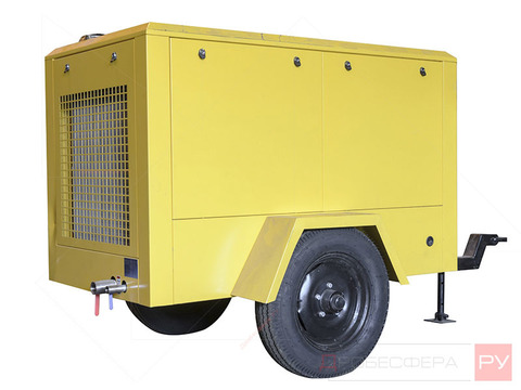 Компрессор передвижной электрический DALI DLDY-3.6/8-RA