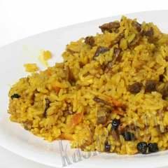 Плов с говядиной 'Каша из топора' готовое блюдо
