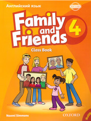 Family and Friends 4: Class Book (Russian Edition)