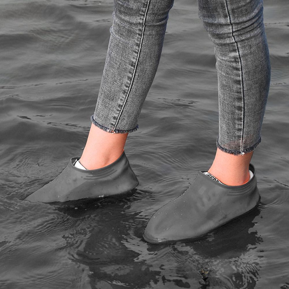 Силиконовые чехлы бахилы для обуви от дождя и грязи