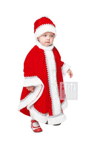 Фото Дед Морозик малышовый рисунок Детские Новогодние костюмы. Прямо с фабрики! Производство Россия. Соответствует ГОСТ. Сертификат Ростеста!