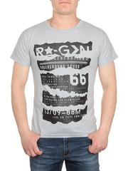 0719-3 футболка мужская, серая