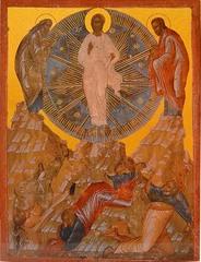 Преображение Господне. Копия иконы XV века на доске.