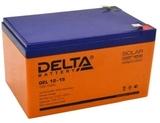 Аккумулятор Delta GEL 12-15  ( 12V 15Ah / 12В 15Ач ) - фотография