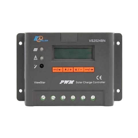 Контроллер заряда EPSolar VS2024BN (PWM, 20A, 12/24В, LCD дисплей)