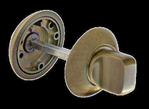 Фурнитура - Завёртка  Morelli MH-WC AB, цвет бронза античная ЦАМ - (сплав, содержащий цинк, алюминий и медь) + многослойное гальваническое покрытие
