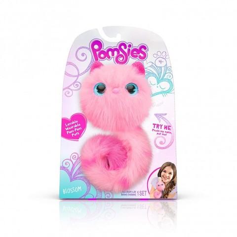Pomsies Blossom, интерактивный розовый котенок Помси оригинал