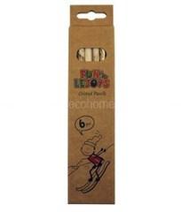 Набор цветных карандашей, Lejoys, Recycled, 6 шт, 45*180*80