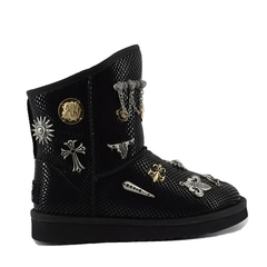 UGG Classic Short Multisign Black