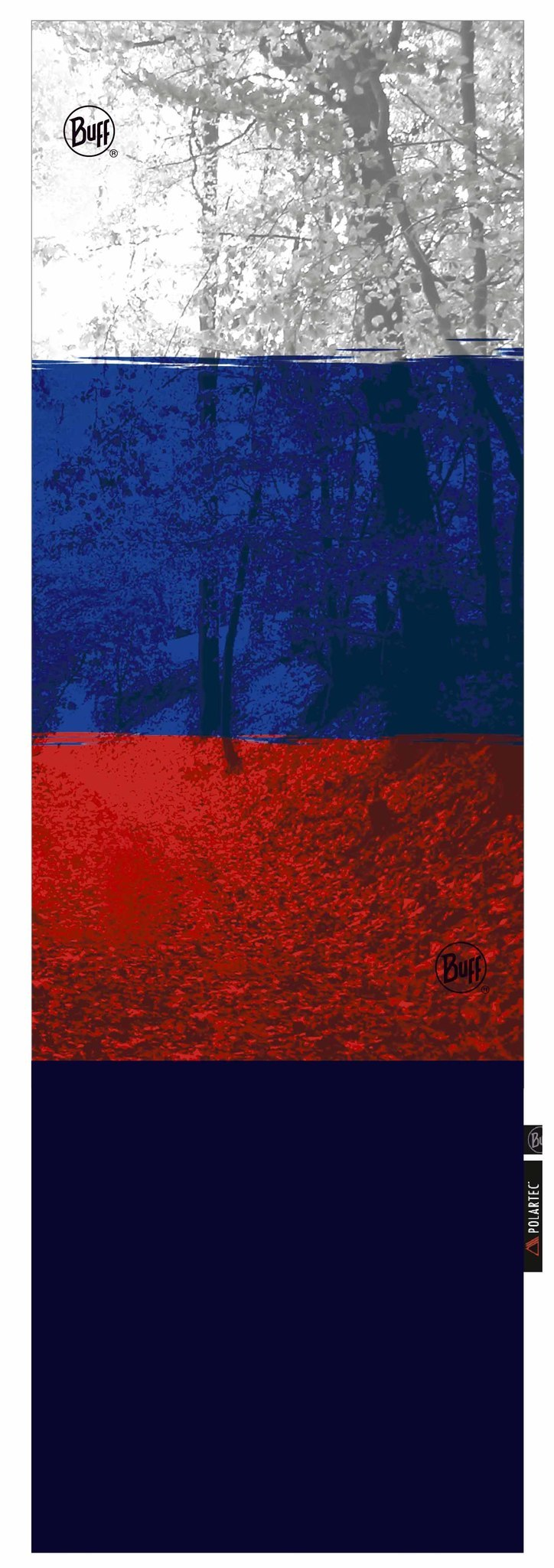 Шарф-труба трансформер Buff Russian Flag