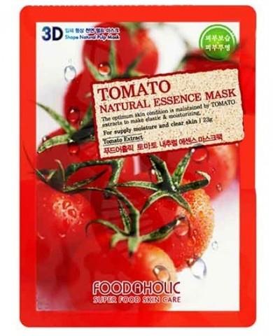 FoodaHolic 3D Маска с натуральным экстрактом томата (ткан.) 23г