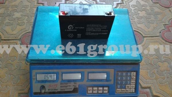 2 Аккумулятор модель 6V12AH для опрыскивателя Комфорт (Умница) ОЭ-8л-МИНИ купить