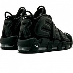 Мужские Nike Air More Uptempo x Supreme Black