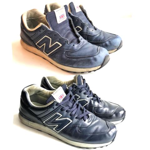 Базовый уход для низкой обуви