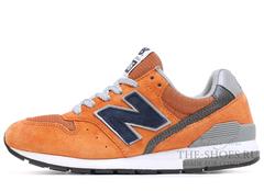 Кроссовки Женские New Balance 996 Orange Dk Blue