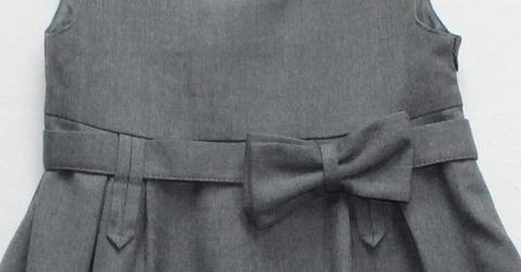 Баловень Школьный сарафан С21.0 серый
