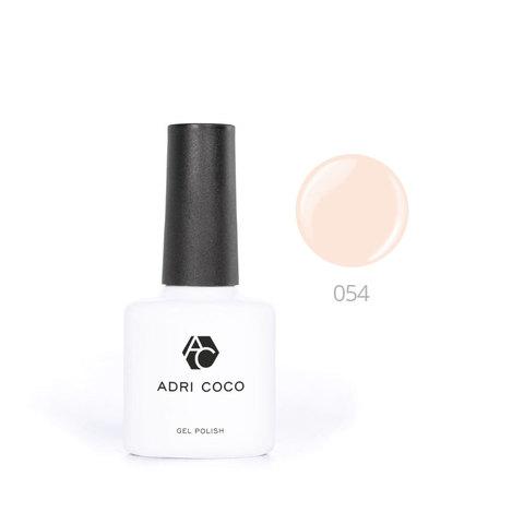 Цветной гель-лак ADRICOCO №054 кремовый (8 мл.)