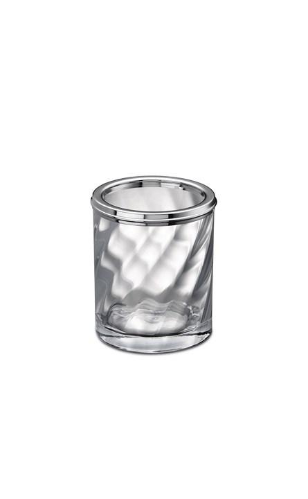 Стаканы для пасты Стакан малый Windisch 91801CR Salomonic Spiral Silver stakan-dlya-zubnyh-schetok-malyy-91801cr-salomonic-spiral-silver-ot-windisch-ispaniya.jpg