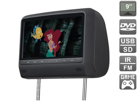 Подголовник с монитором AVIS Electronics AVS0943T (черный)