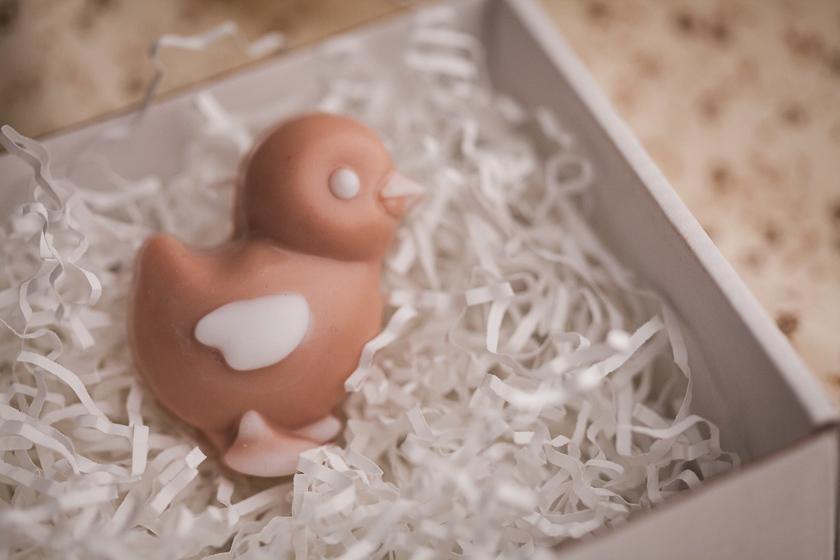 Цыпленок. Пластиковая форма для мыла