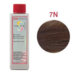 CHI Ionic Shine Shades Liquid Color 7N (Темный-блондин) - Жидкая краска для волос