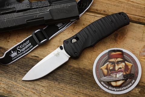 Складной нож 1000001 Volli Axa PE Satin полуавтомат