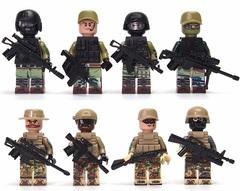 Минифигурки Военных Российские десантники серия 166
