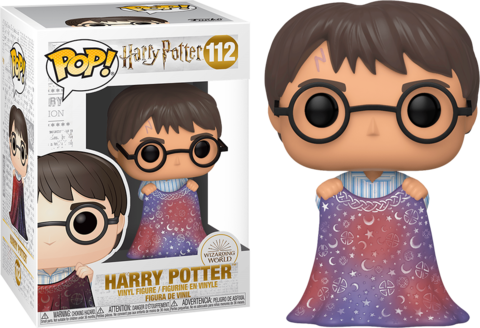 Harry Potter with Invisibility Cloak Funko Pop! Vinyl Figure ||  Гарри Поттер с мантией-невидимкой