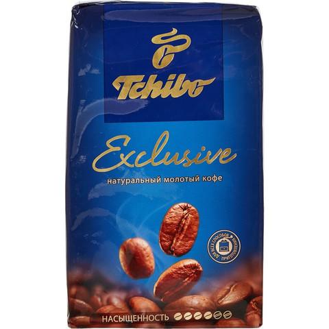 Кофе Tchibo Exclusive молотый 250г