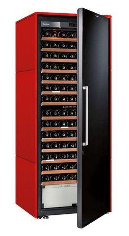 Винный шкаф EuroCave D Collection L красный сатин, сплошная дверь, максимальная комплектация