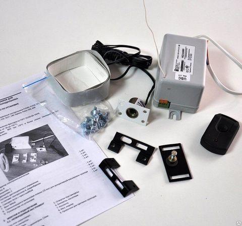 Электронный замок для однодверных торговых холодильников универсальный (накладной)