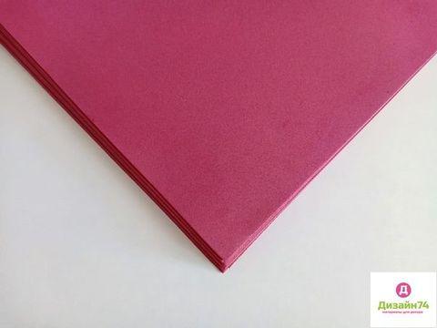 Фоамиран 60*70см*2мм Премиум, упаковка 10 листов, пр.Китай, цвет Паприка