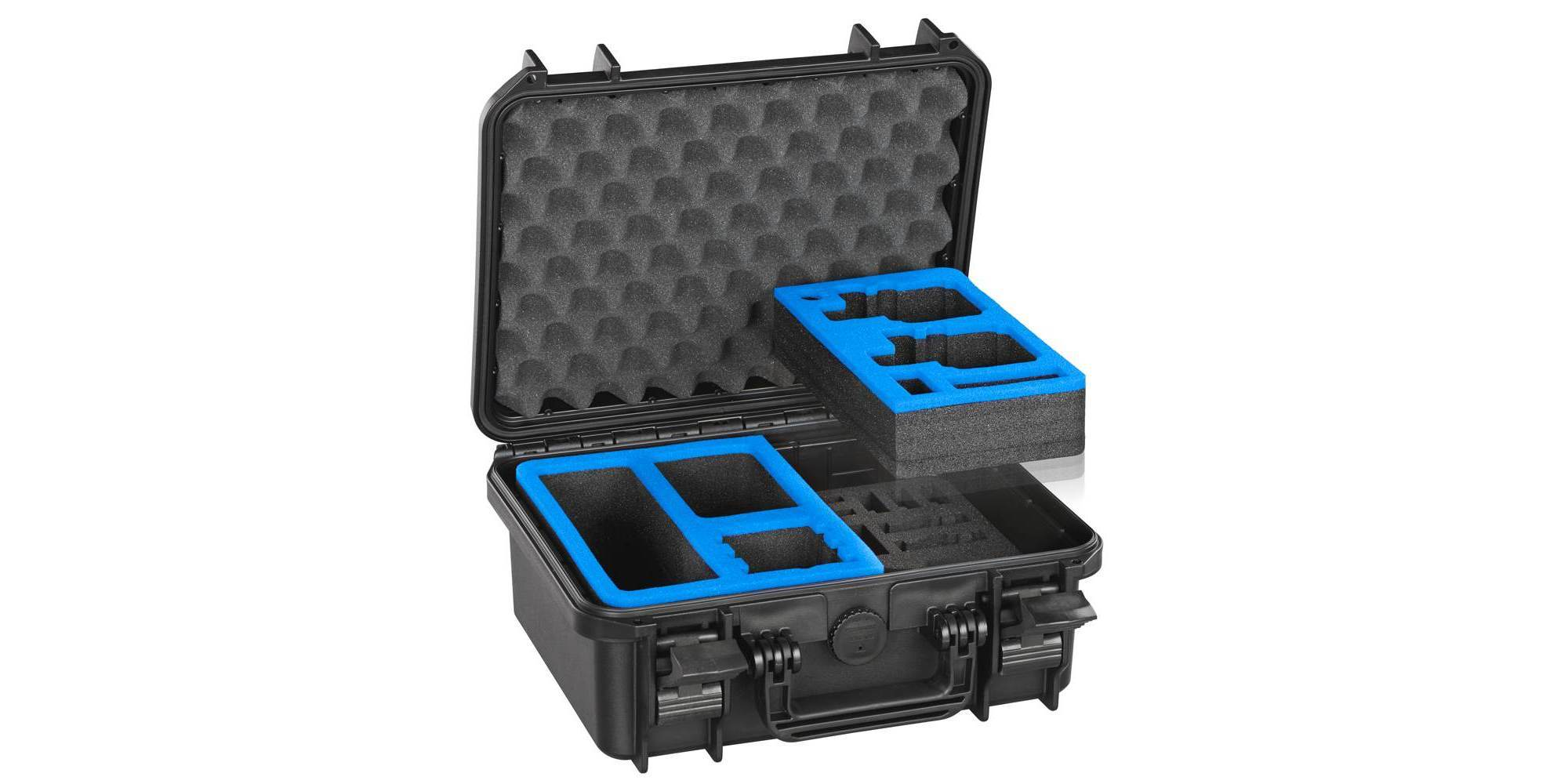 Кейс ударопрочный VG M0300 для экшн-камер раскрытый