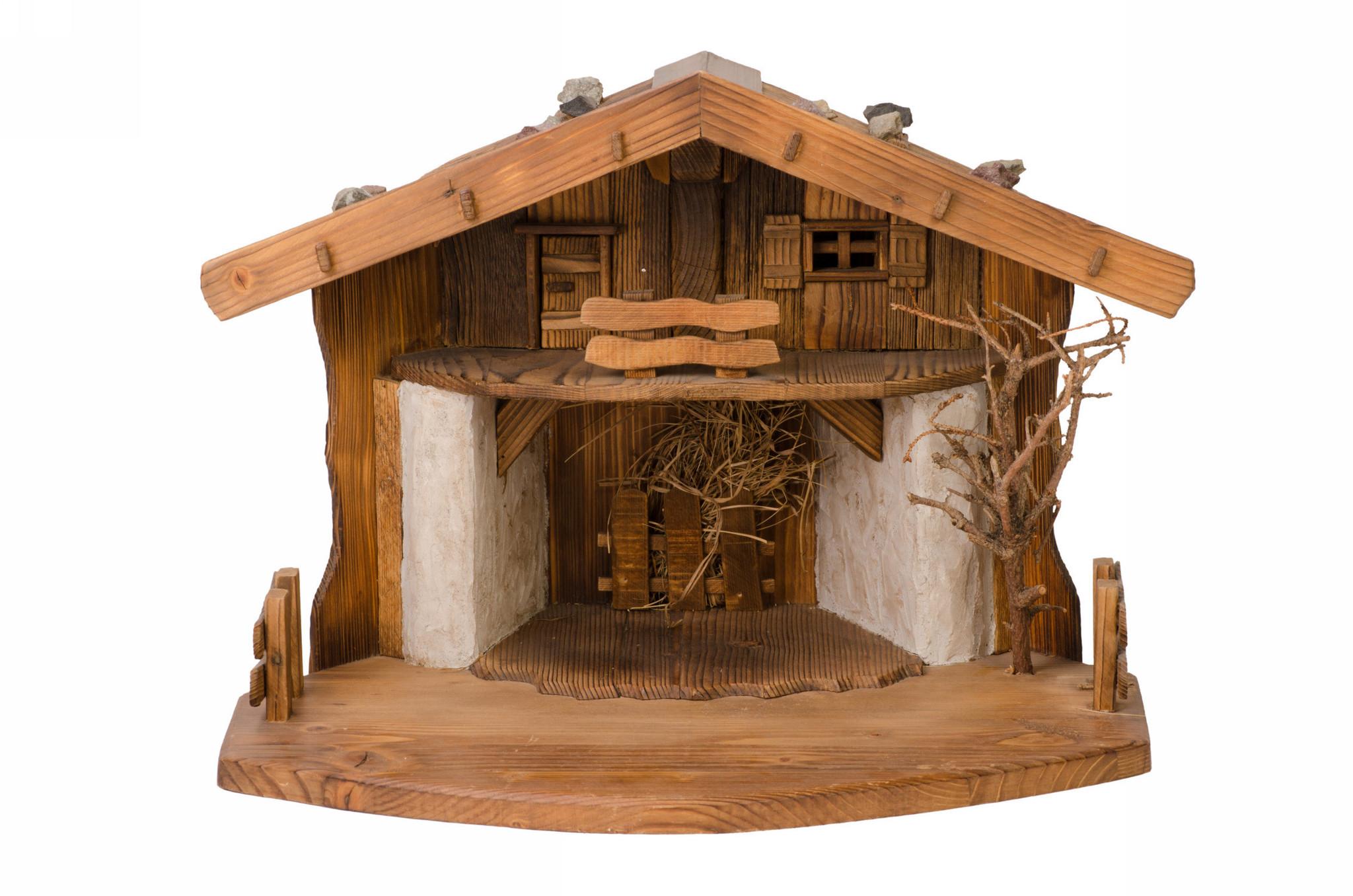 Двухэтажный дом для вертепа