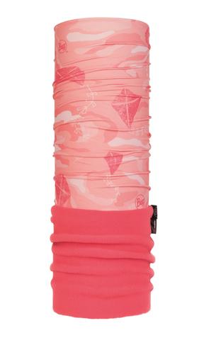 Шарф-труба трансформер детский Buff Kite Flamingo Pink