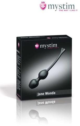 Влагалищные шары с миостимуляцией Duo Jane Wonda Mystim E-stim Geisha Balls