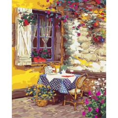 Уютный ужин- раскраски по номерам
