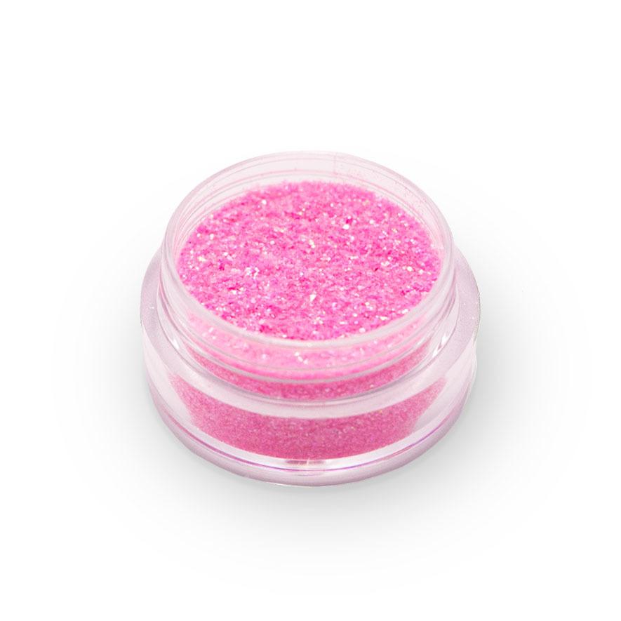 Глиттер пищевой розовый, 5г.