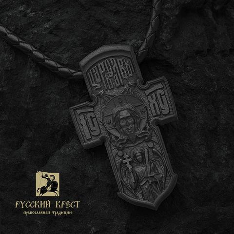 Нательный крестик православный деревянный
