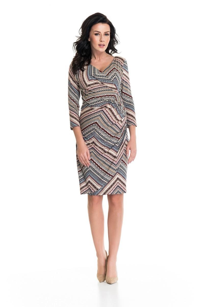 Платье 05405 узорный