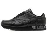 Кроссовки Мужские Reebok Classic Leather Premium Black