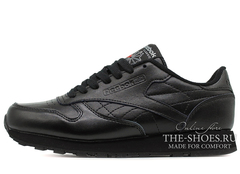 Кроссовки Мужские Reebok Classic Leather Premium Black